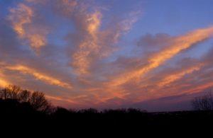 (Sky opposite setting sun 2/12/03)