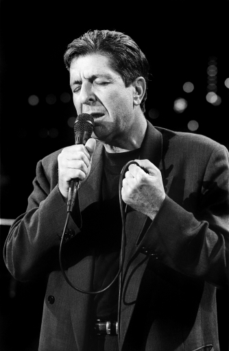 Leonard Cohen,  Austin City Limits, 1989