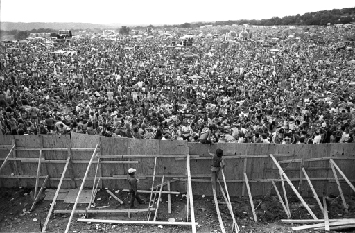 The Crowd As Seen From The Stage