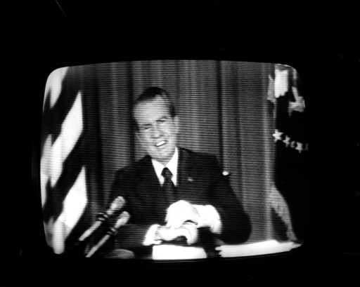 "Nixon gives the ""I'm Not A Crook"" speech 1974"