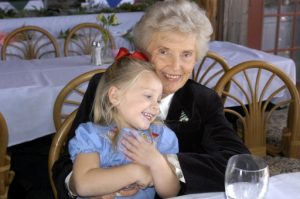 (My Mom on her 80th Birthday, 1/2/05, Tampa, Florida)