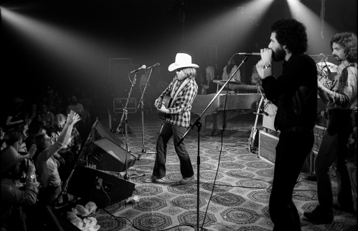 Willie at the Austin Opera House 1978