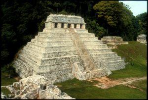 (Temple of the Inscriptions, Palenque, Mexico)