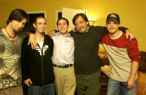 (The Newton Boys at Scott's House  March 3, 2005)