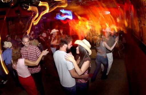 Dancers at Continental Club, Austin TX   June, 2005