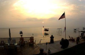 (Sunrise on Lake Ontario   July 18, 2005)