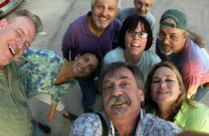 (Self Portrait with Friends, Austin, August 2005)