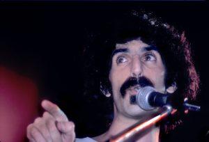 (Frank Zappa, Armadillo World Headquarters, Austin, 1972)