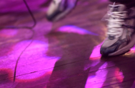 Ray Davies' shoes.  Austin City Limits July 24, 2006