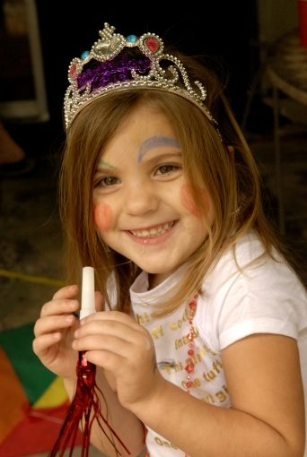 My Granddaughter, Kaia Newton, on her 4th Birthday;  Sept 9, 2006