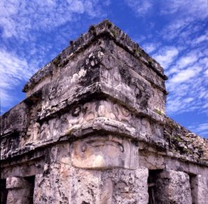 (Architectural Detail; Tulum, Quintana Roo, Mexico: 1985)