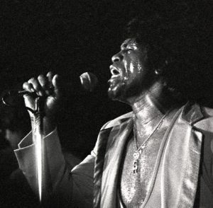 (James Brown,  Austin Opera House, April 1983)