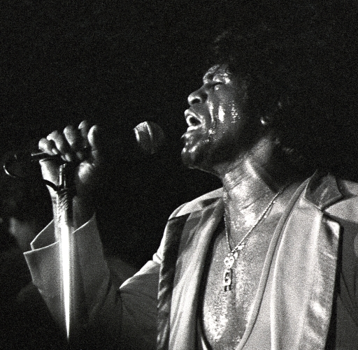 James Brown,  Austin Opera House, April 1983