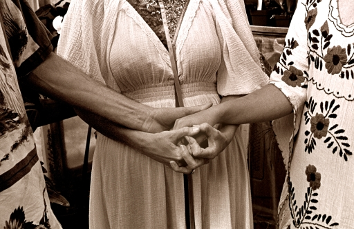 Wedding Hands, Spring Equinox 1980
