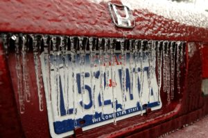 (Ice Storm in Texas Jan 17, 2007)