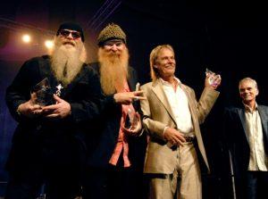 (ZZ Top accepts their Texas GRAMMY Award, Nov 13 2006)
