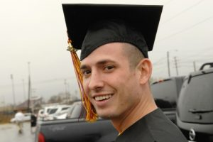 (My Son, Orion Newton, graduated Texas State University today, 12/14/07…)