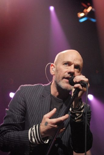Michael Stipe of REM;  Austin City Limits, March 13, 2008