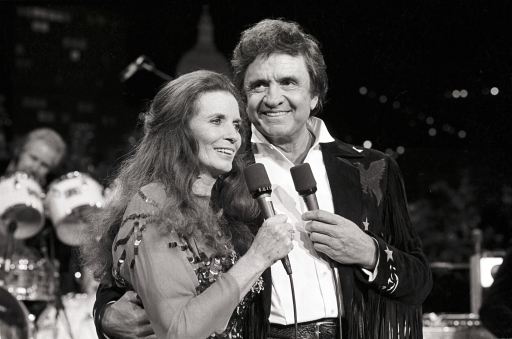 June Carter & Johnny Cash. Austin City Limits. 1986