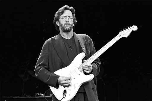 Eric Clapton. May 1995 SRV Tribute Austin, TX