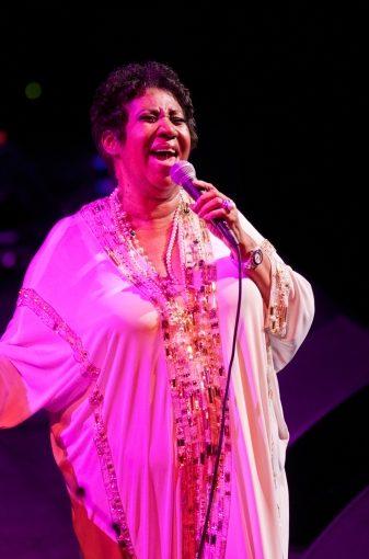 Aretha Franklin.  Nov 16, 2011, @ACL-Live Austin, TX