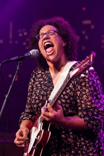 Brittany Howard of Alabama Shakes  @ Austin City Limits. March 13, 2012