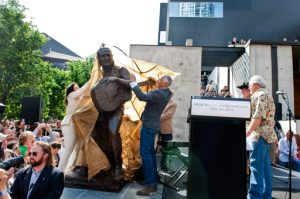 (Unveiling Willie's Statue, April 20, 2012 4:20pm Austin, TX. Corner of Willie Nelson Blvd and Lavaca)