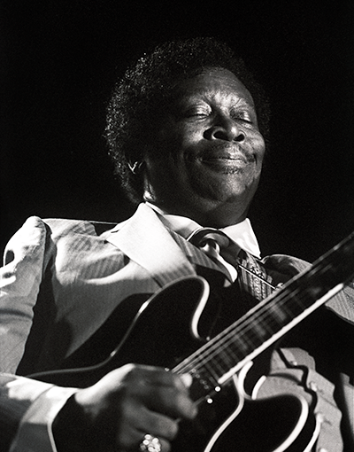 Back online! here's BB King