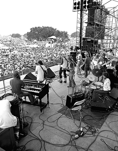 Jerry Jeff and the Gonzos, Gonzales Picnic 1976