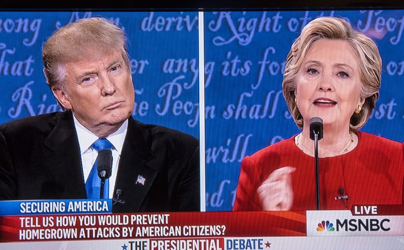 The First Trump – Clinton Debate, Sept 26, 2016